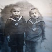 Дед с братом Георгием