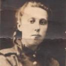 Лобарева (девичья Красильникова) Мария Ивановна Иркутск. Август 1945 г.